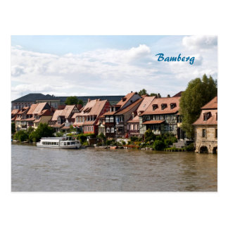 Little Venice in Bamberg Postcard