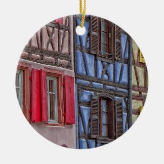 Little Venice in Colmar Ceramic Ornament