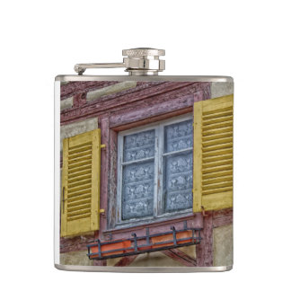 Little Venice in Colmar Hip Flask