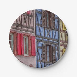 Little Venice in Colmar Paper Plate
