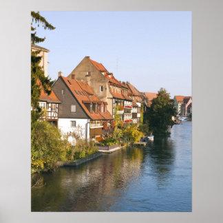 Little Venice (Klein Venedig) and River Regnitz Poster