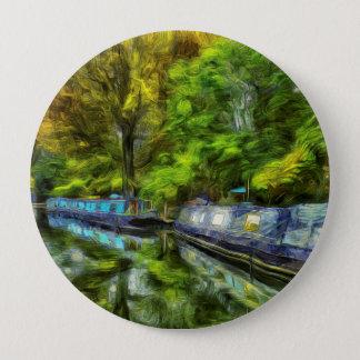 Little Venice London Van Gogh 4 Inch Round Button