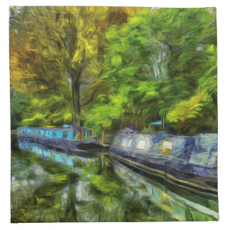 Little Venice London Van Gogh Napkin