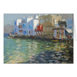 Little Venice Mykonos Card