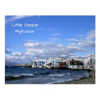 Little Venice, Mykonos Postcard