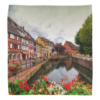 Little Venice, petite Venise, in Colmar, France Bandanna