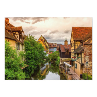 Little Venice, petite Venise, in Colmar, France Card