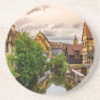Little Venice, petite Venise, in Colmar, France Coaster