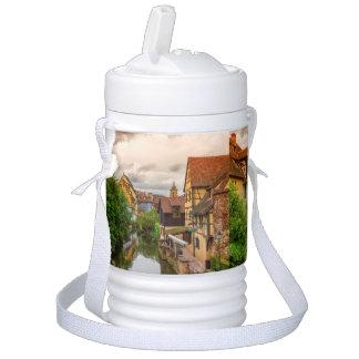 Little Venice, petite Venise, in Colmar, France Drinks Cooler