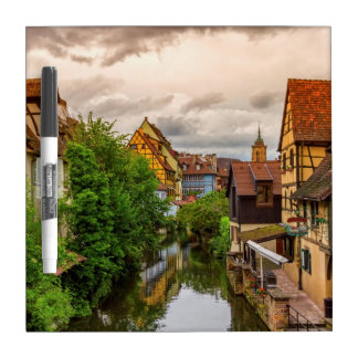 Little Venice, petite Venise, in Colmar, France Dry Erase Board