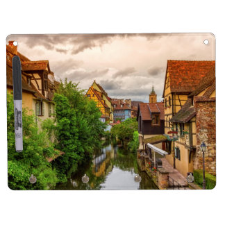 Little Venice, petite Venise, in Colmar, France Dry Erase Board With Keychain Holder