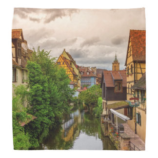Little Venice, petite Venise, in Colmar, France Head Kerchief