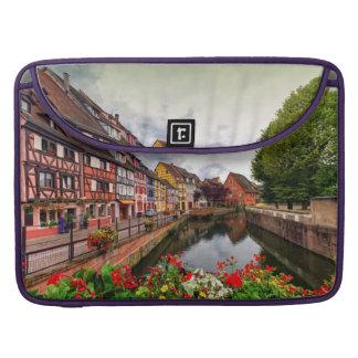 Little Venice, petite Venise, in Colmar, France MacBook Pro Sleeves