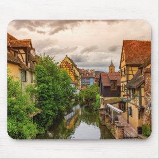Little Venice, petite Venise, in Colmar, France Mouse Pad