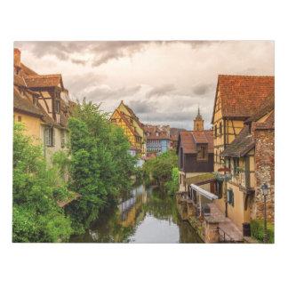 Little Venice, petite Venise, in Colmar, France Notepad