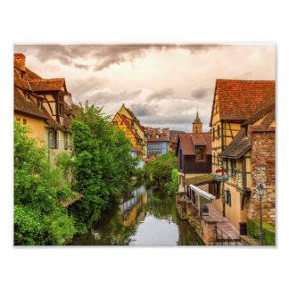 Little Venice, petite Venise, in Colmar, France Photo Print