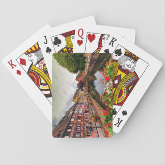 Little Venice, petite Venise, in Colmar, France Playing Cards
