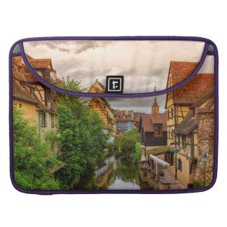 Little Venice, petite Venise, in Colmar, France Sleeves For MacBooks