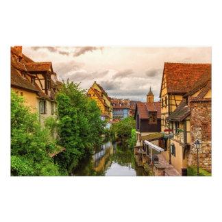 Little Venice, petite Venise, in Colmar, France Stationery