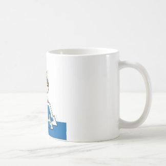 Little Viking Boy Basic White Mug