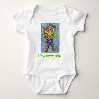 Little Warrior Prince Baby Bodysuit