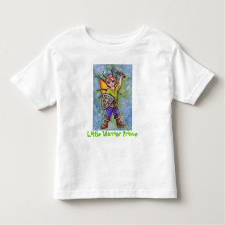 Little Warrior Prince Toddler T-shirt