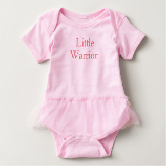 Little Warrior Princes Baby Girl Tutu Dress