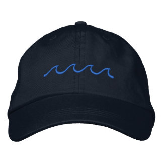 Little Waves Embroidered Hat
