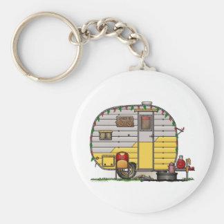 Little Western Camper Trailer Keychain