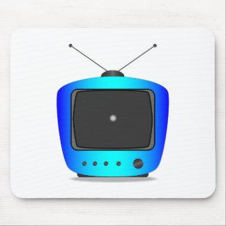 Little White Dot TV Mouse Pad