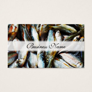 Little White Fish Business Card