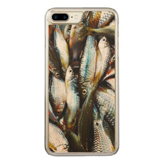 Little White Fish Carved iPhone 8 Plus/7 Plus Case