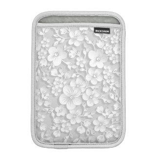 Little White Flowers iPad Mini Sleeve