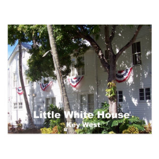 Little White House, Key West Postcard