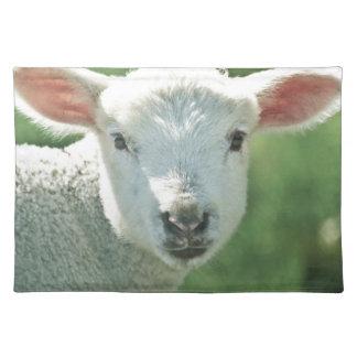 Little White Lamb Place Mat