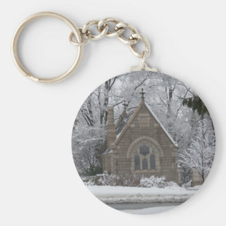 Little Winter Chapel on the go Keychain