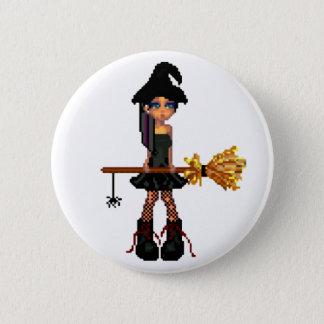 Little Witch 2 Inch Round Button