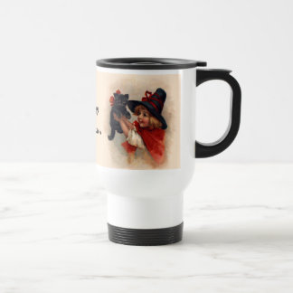 Little Witch Girl Travel Mug