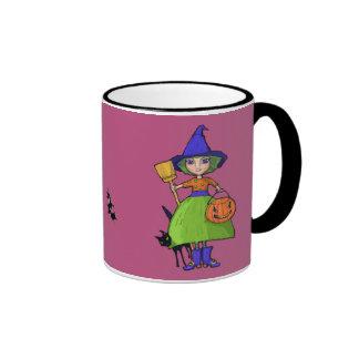 Little Witch plum Mug