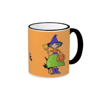 Little Witch pumpkin Mug