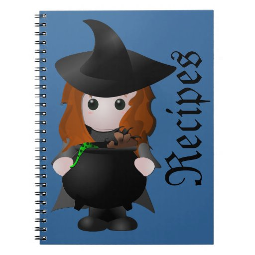 Little Witch Recipe Notebook