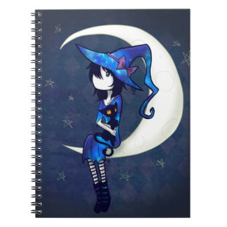 Little Witch Spiral Notebook