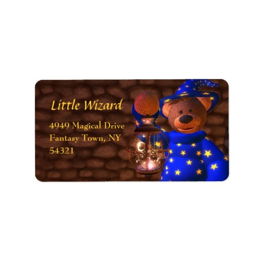 Little Wizard Labels