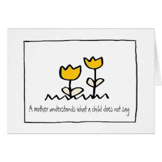 little wobblies happy mothers day stationery note card