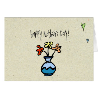little wobblies happy mothers day note card