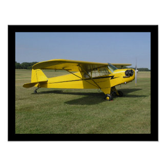 Little Yellow Airplane Poster
