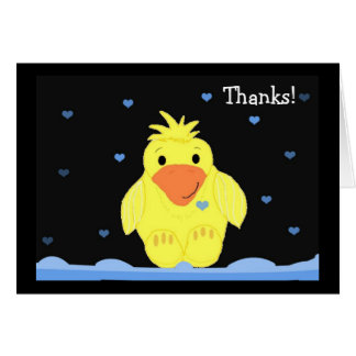 Little Yellow Duck Thank You Card