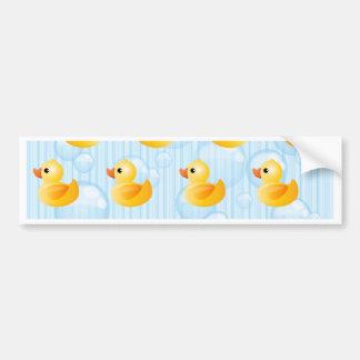 Little Yellow Ducks Bumper Sticker