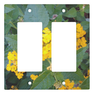 LITTLE YELLOW FLOWERS LIGHT SWITCH COVER