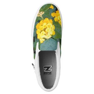 LITTLE YELLOW FLOWERS Slip-On SNEAKERS